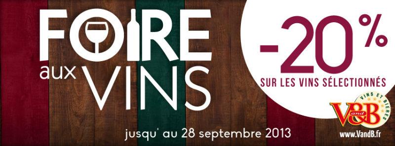 Foire aux vins 2013 - V and B