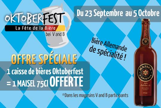 Offre spéciale Oktoberfest