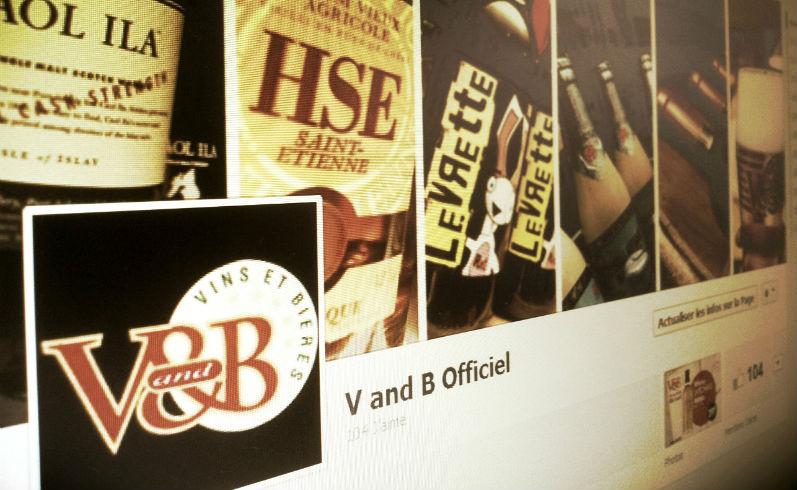 Page Facebook V and B Officiel