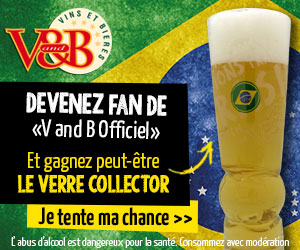 Verre collector Coupe du Monde 2014 - V and B