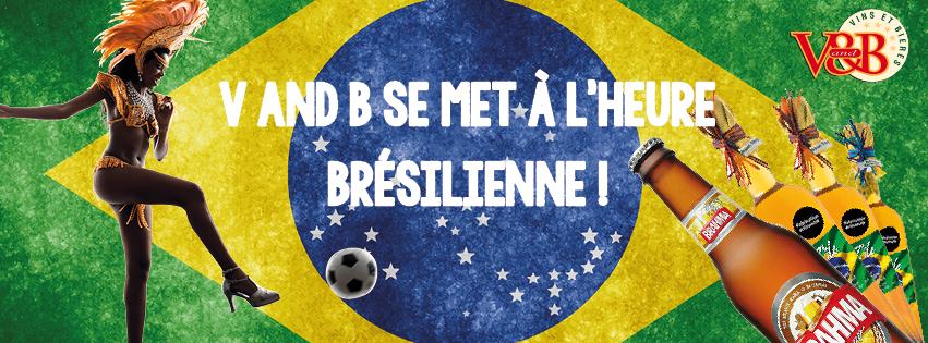 V and B se met à la brésilienne