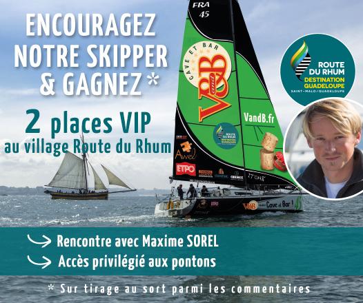 Concours Route du Rhum avec V and B
