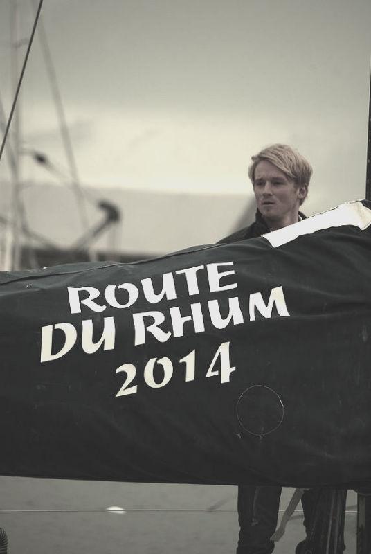 Route du rhum 2014 - Maxime Sorel