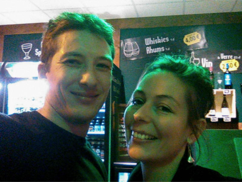 Selfie V and B Tarbes