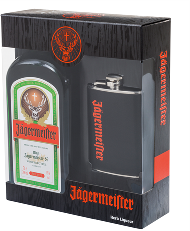 jagermeister flasque - exclusivité