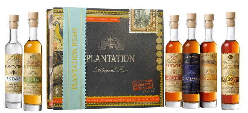 Plantation tasting box - rhum