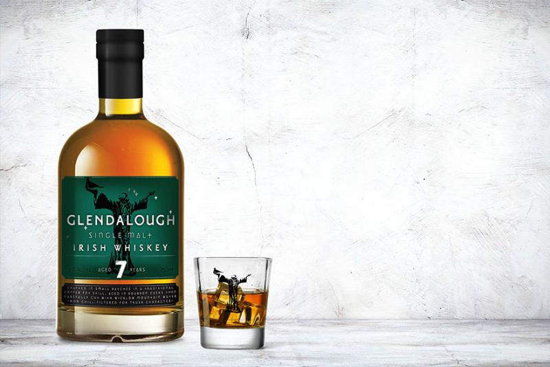 Glendalough whisky - 7 ans