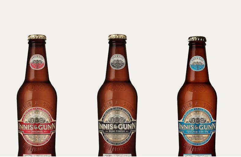 Gamme de bière Innis and Gunn