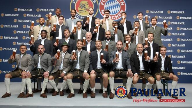 Equipe FC Bayern - Paulaner
