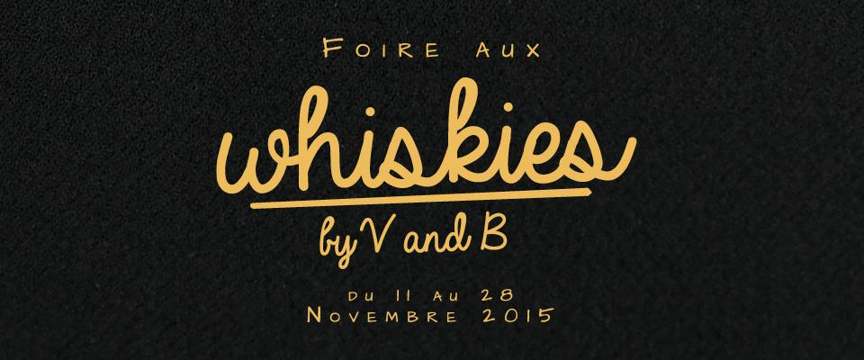 Foire aux whiskies 2015