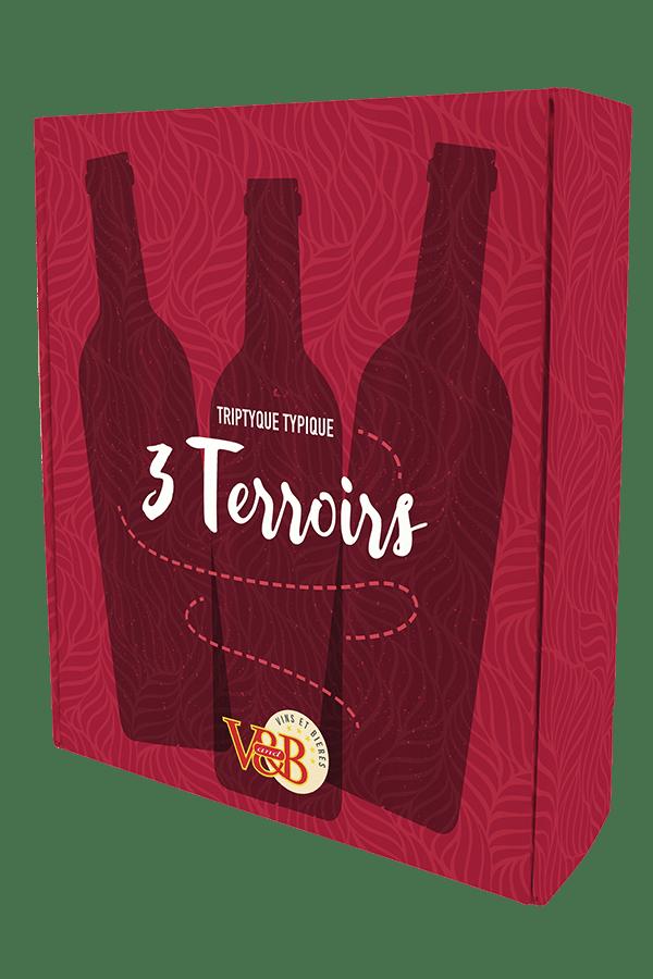 Coffret de vin 3 terroirs