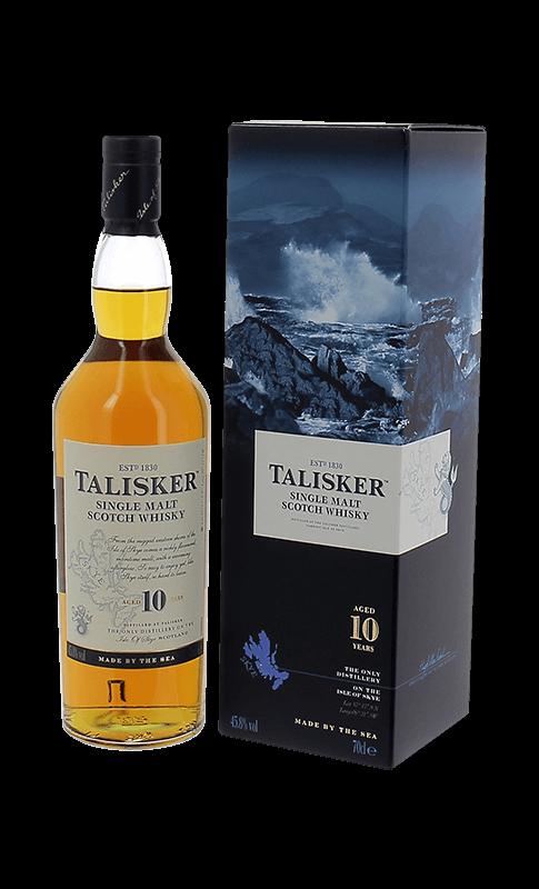 Talisker 10 Ans Classic Malt V and B