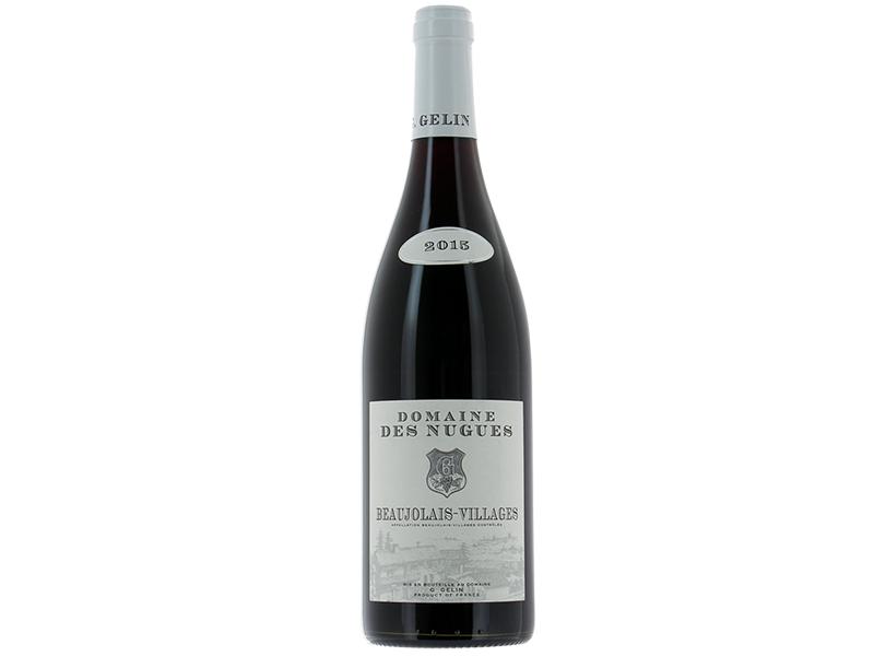 vin rouge AOP Beaujolais Village Domaine des Nugues