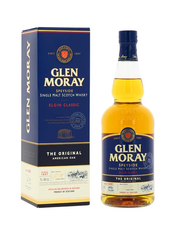 bouteille glen moray + boite