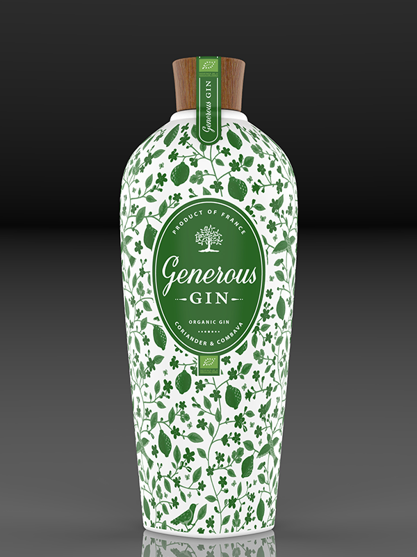 bouteille gin generous