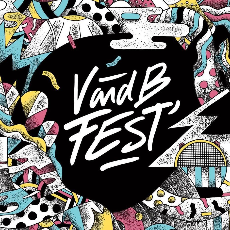 logo v and b fest