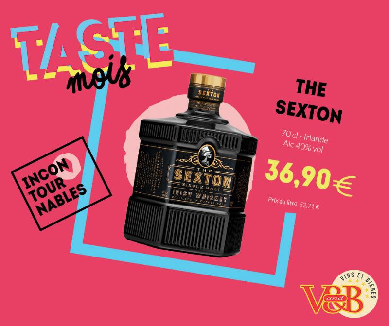 the sexton whiskey