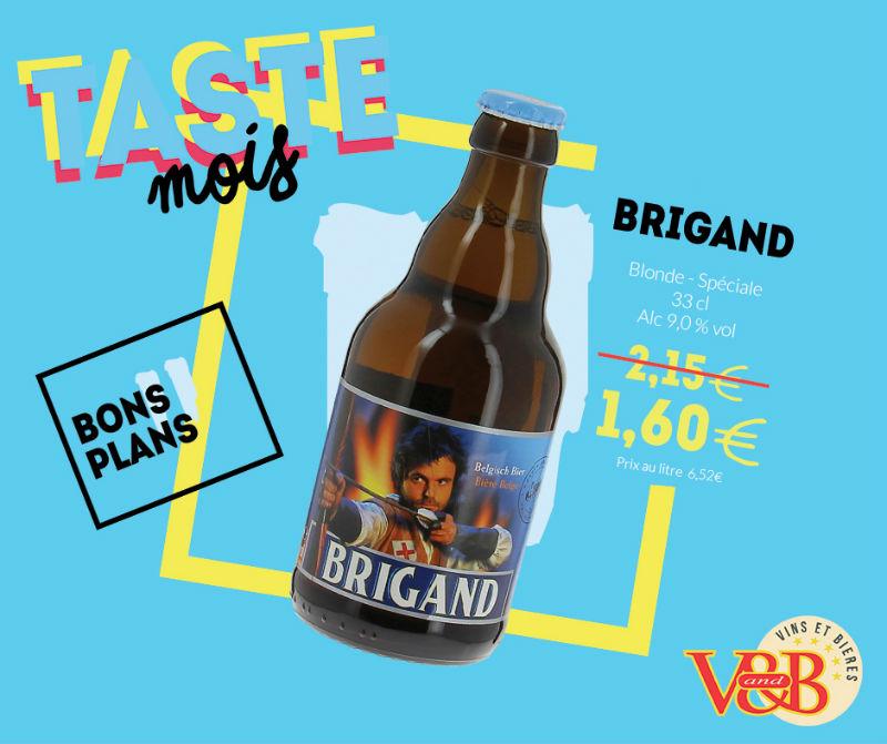 bière belge brigand