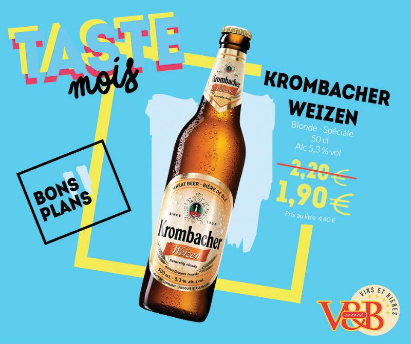 bière allemande krombacher