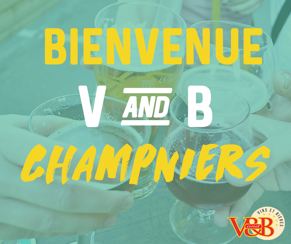 ouverture v and b champniers