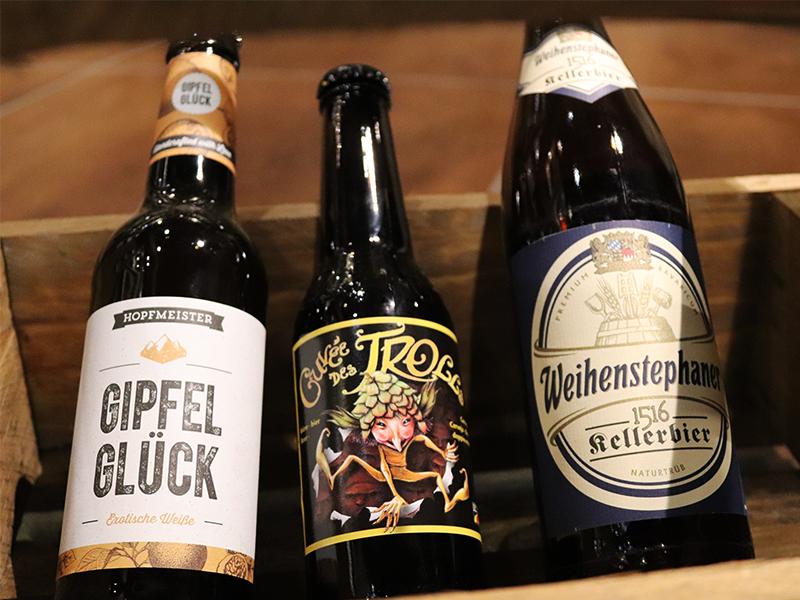 sélection bières juillet v and b
