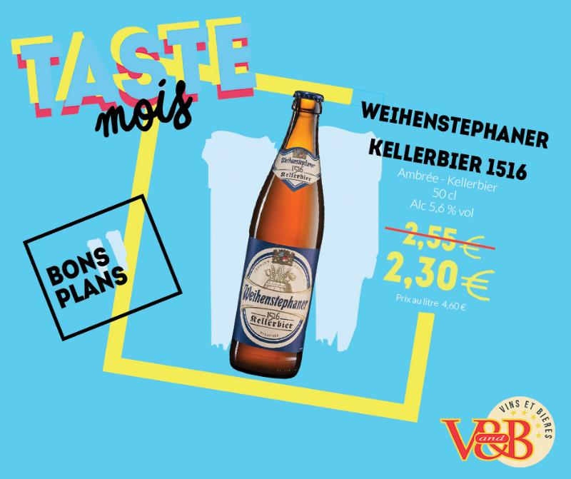 weihenstephaner v and b bière