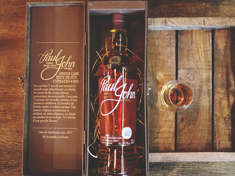 whisky paul john v and b