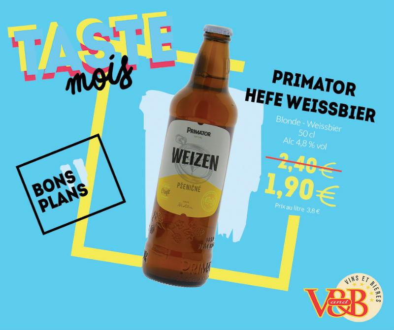 bière primator hefe weissbier v and b