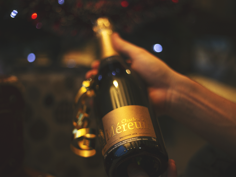 V and B champagne charles méreuil millésimé