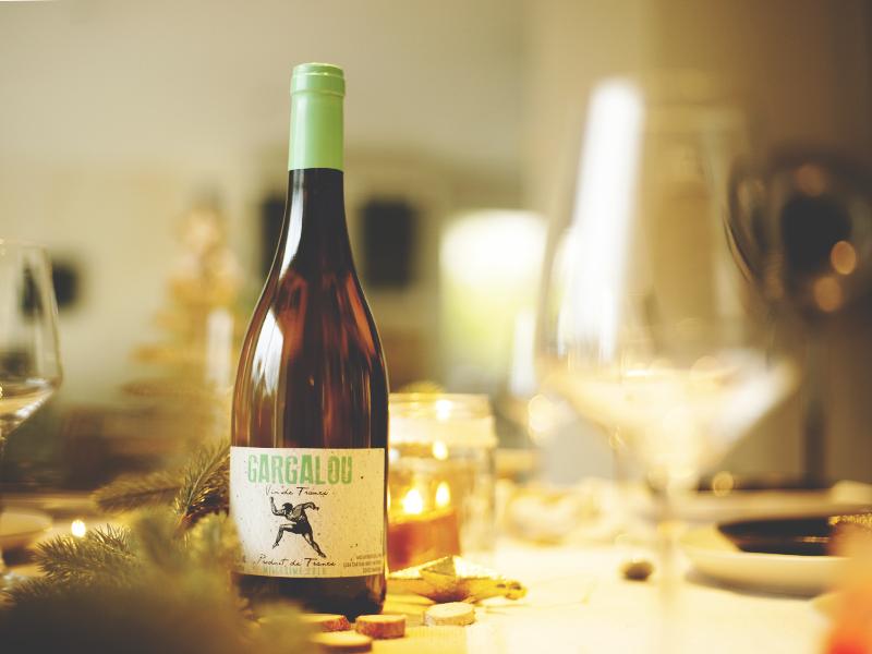 vin blanc gargalou noël v and b