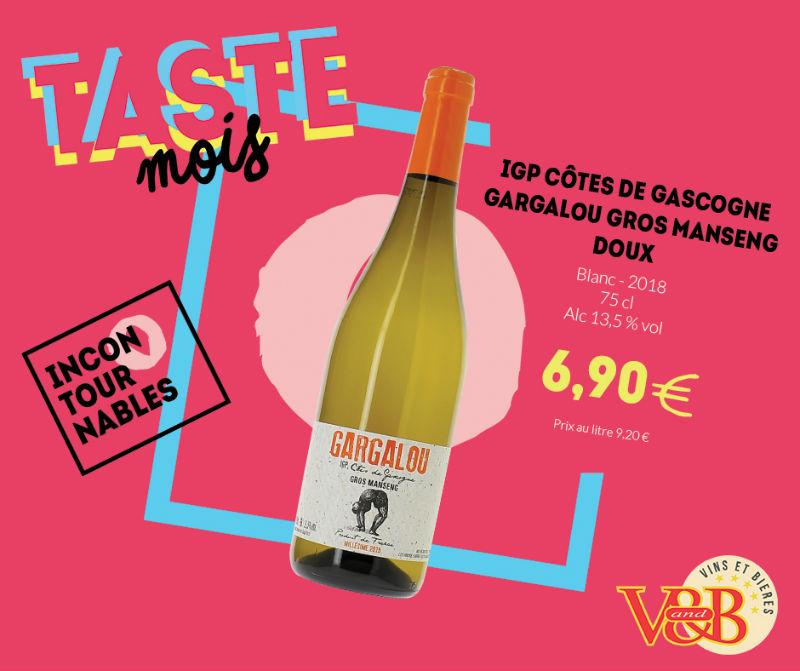 vin blanc gargalou v and b