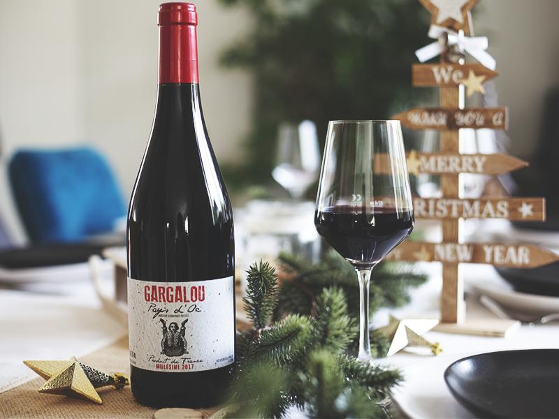 gargalou rouge vin noël V and B