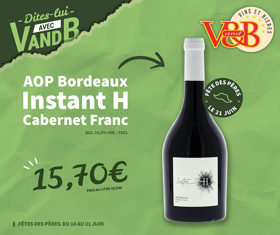 AOP Bordeaux Instant H Cabernet Franc