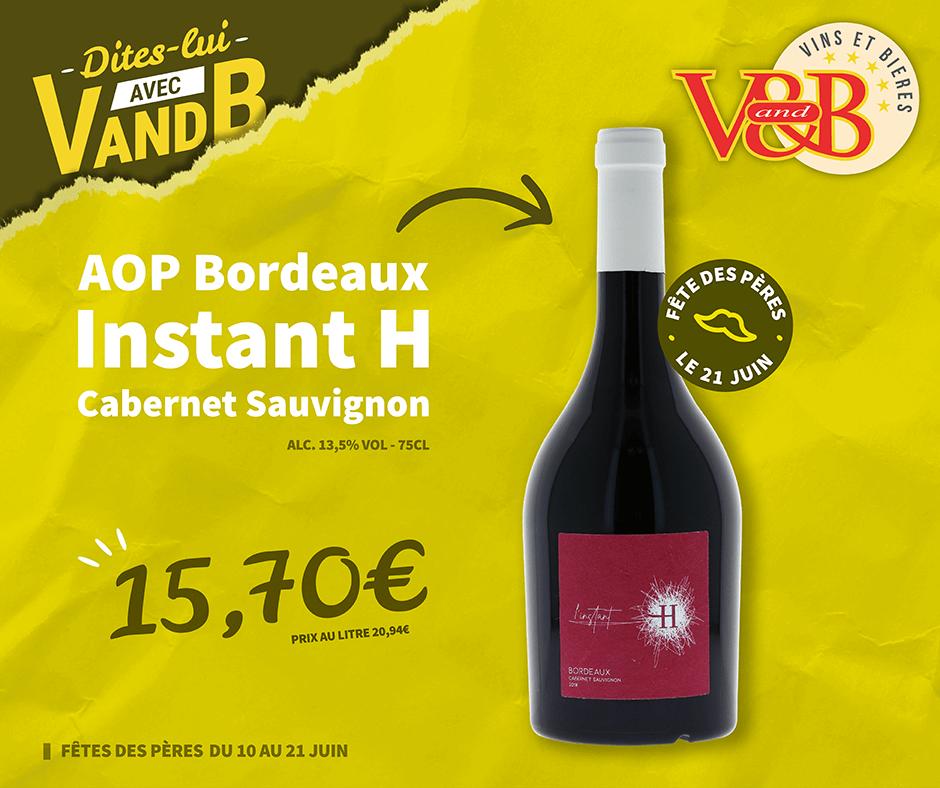 AOP Bordeaux Instant H Cabernet Sauvignon
