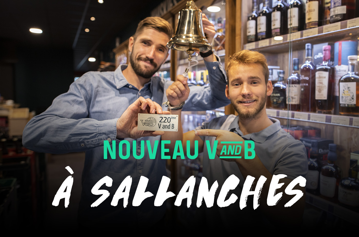 nouveau magasin V and B sallanches