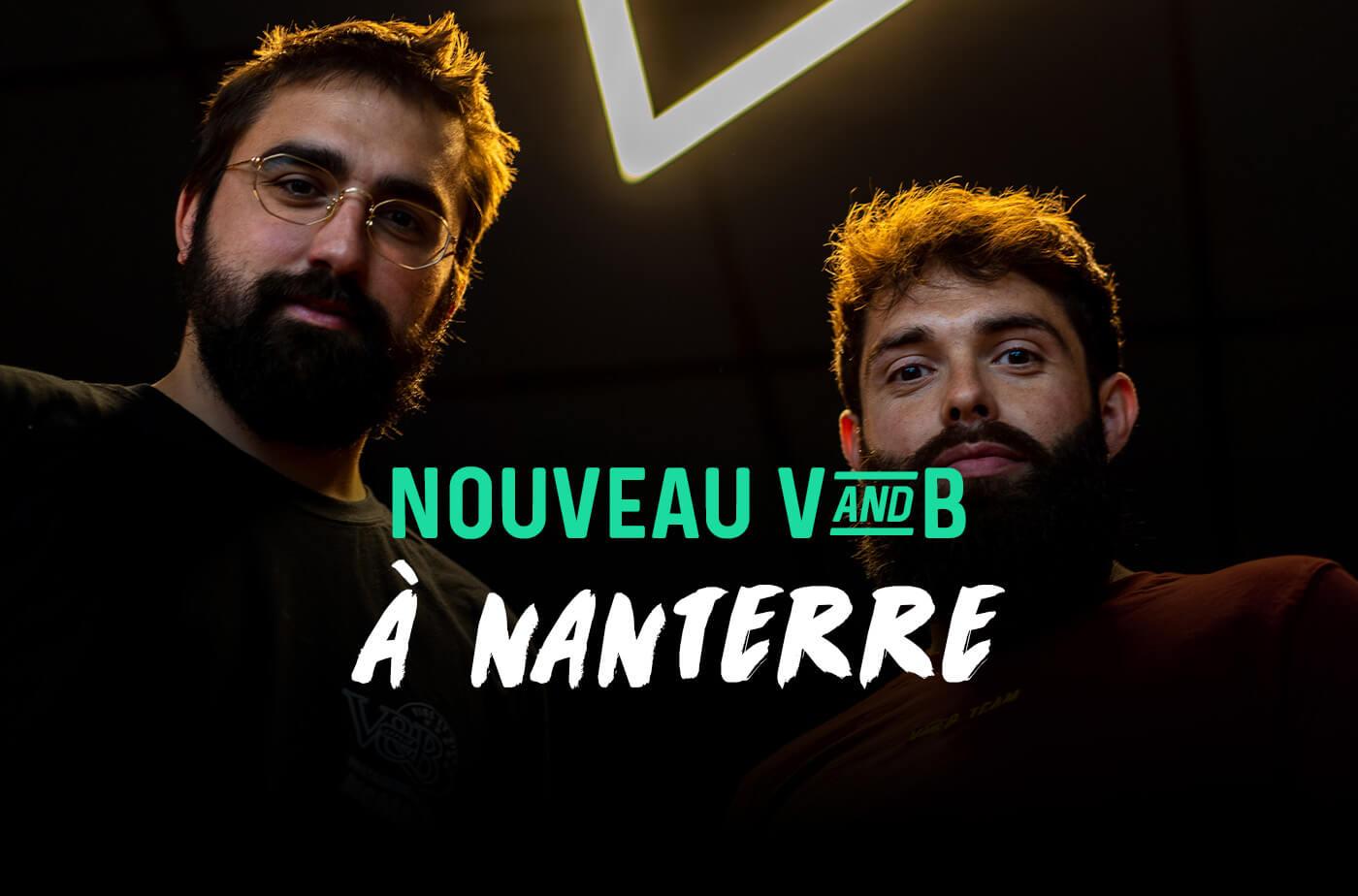 Nouveau magasin V and B à Nanterre