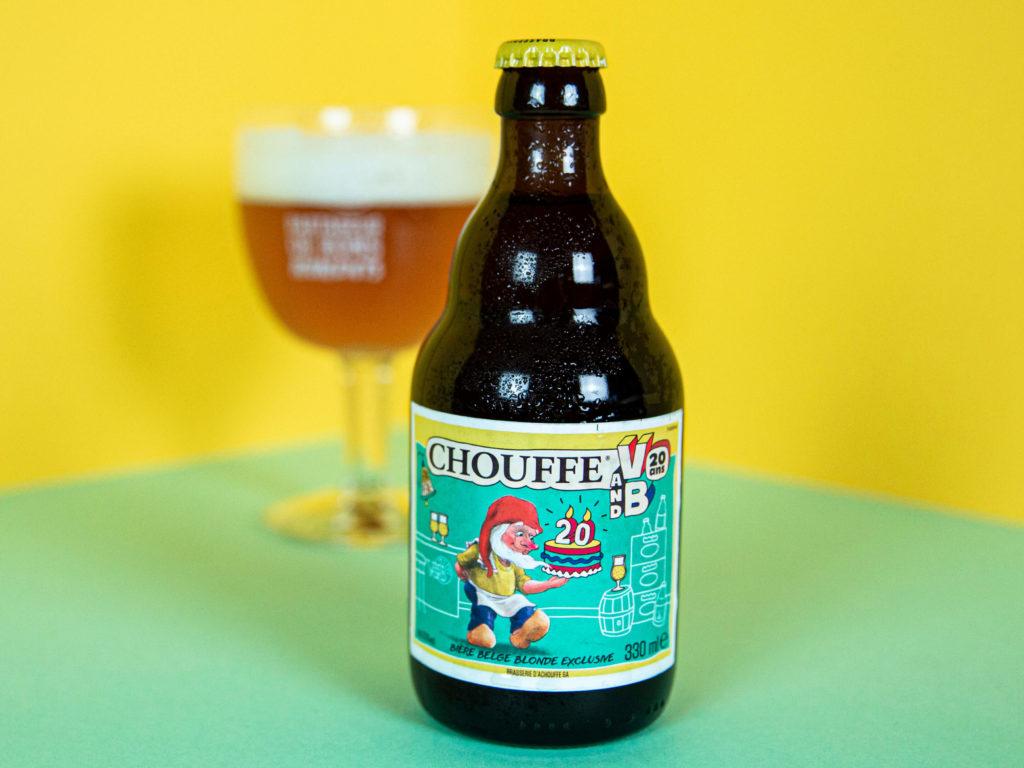 bière blonde Chouffe V and B