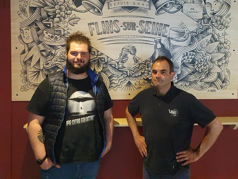 Mael Yann et Eric V and B Flins-sur-Seine