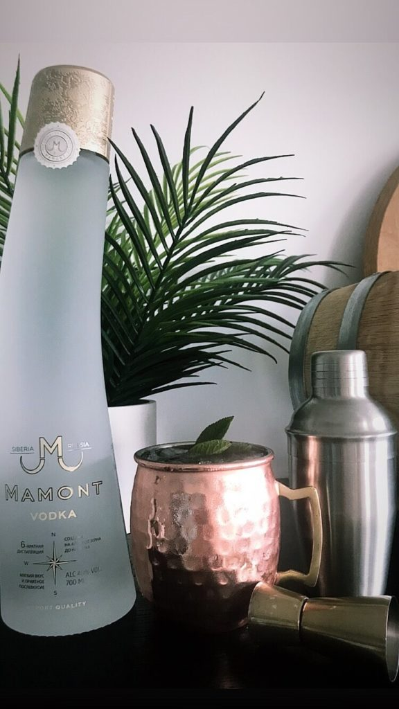 Moscow mule Vodka mamont