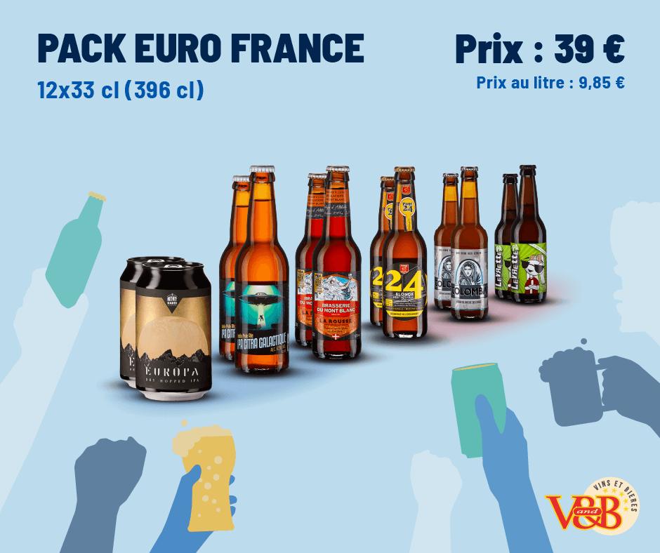 Pack Euro France V and B