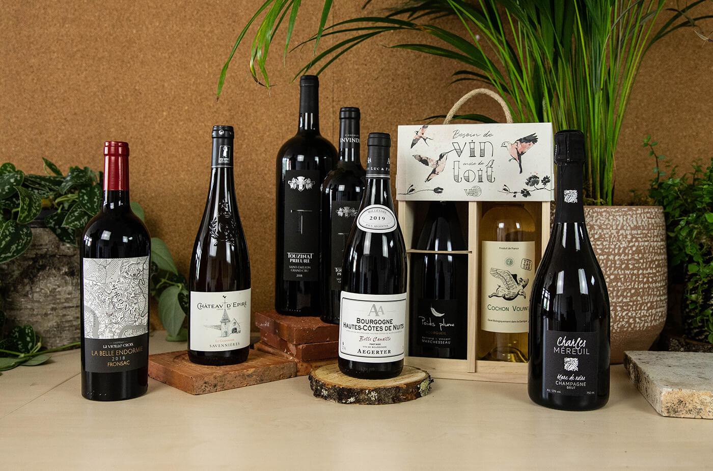 idées cadeaux vins Fête des pères