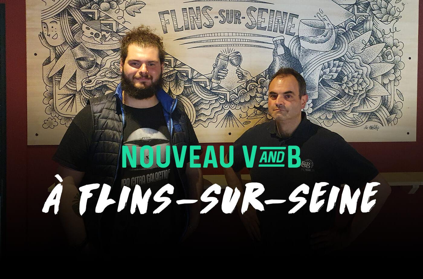 nouveau magasin V and B Flins-sur-Seine